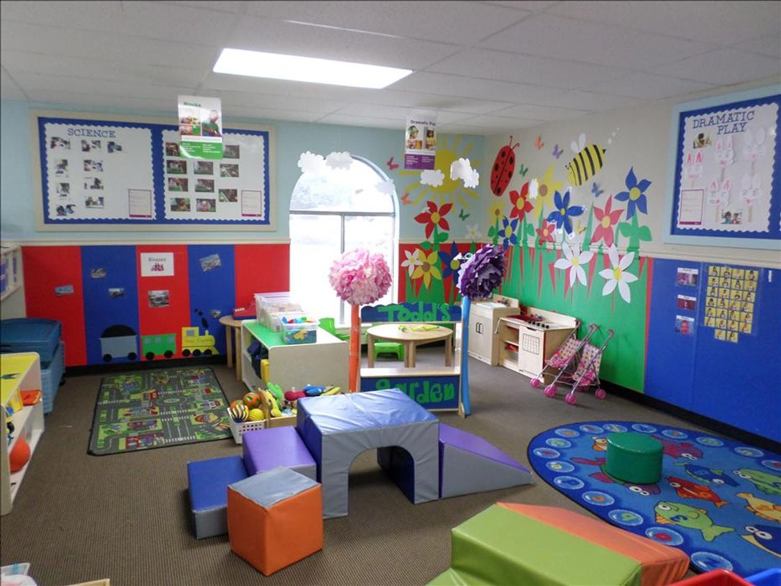 Lower Terrace KinderCare Photo #1 - Garden theme in our Toddler B classroom.