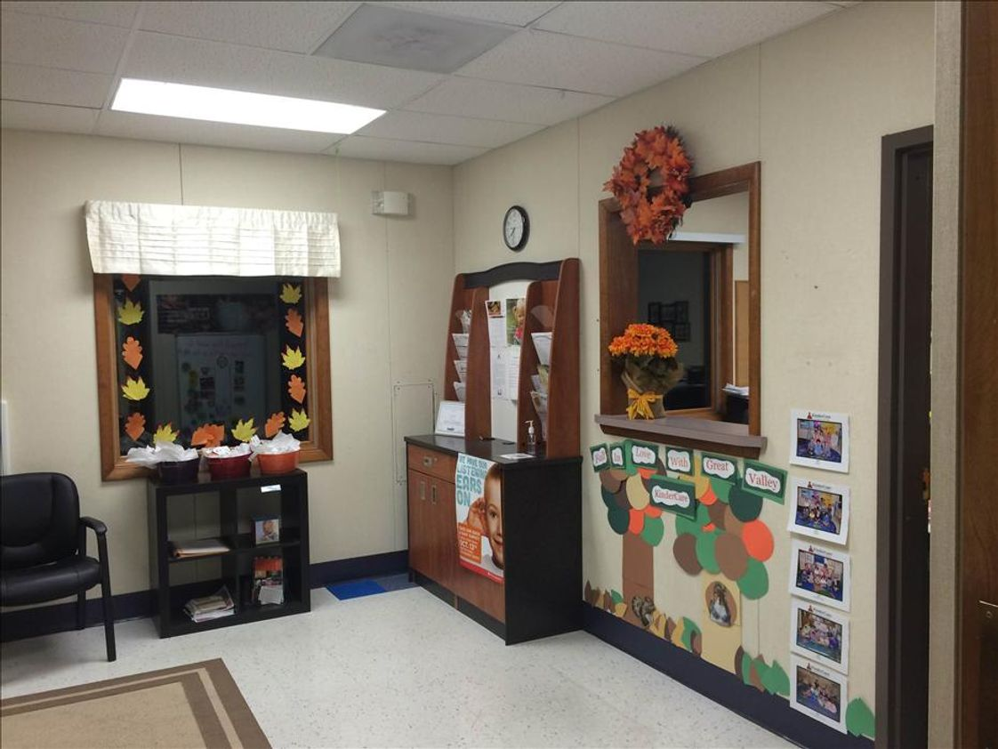 Great Valley KinderCare Photo #1 - Our Beautiful Fall Lobby