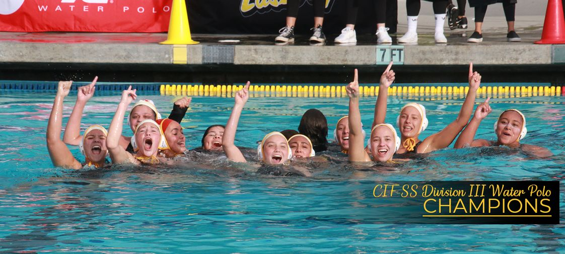 Rosary Academy Photo - Rosary Water Polo team are the CIF-SS Division III Water Polo Champions!