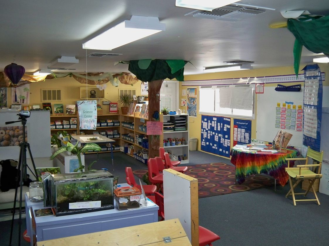 Roseville Community School Photo #1 - We place special importance on our classroom environments. The students presence is felt in all the rooms. A very comfortable and supportive place to be!