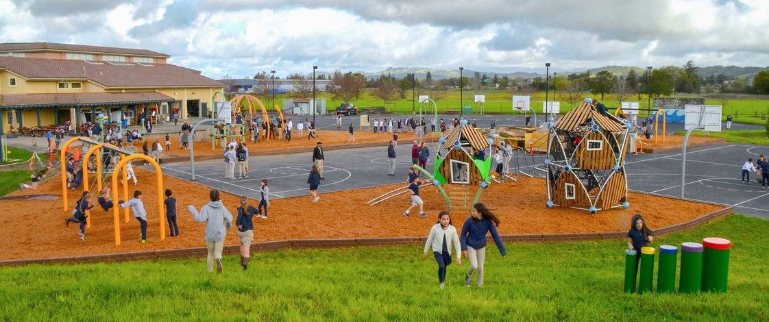 Sonoma Country Day School Photo #1 - Middle School Playground