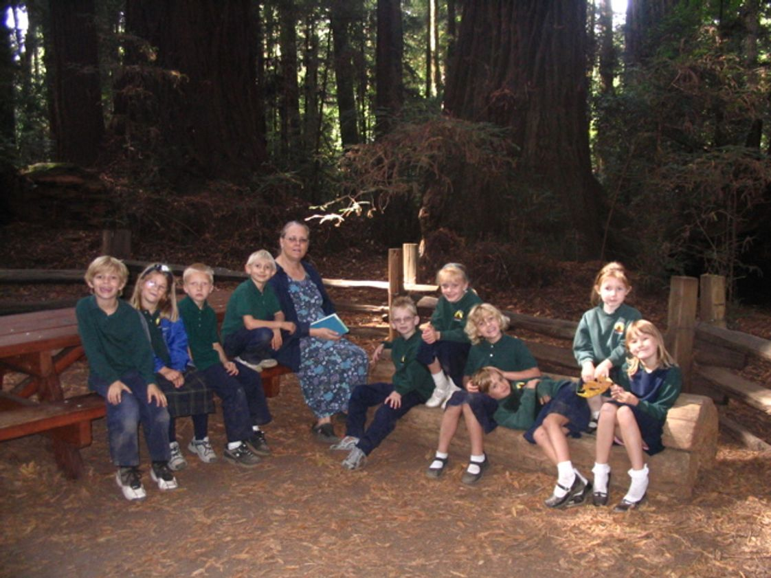 St Lawrence Academy Photo #1 - Hike in Henry Cowell