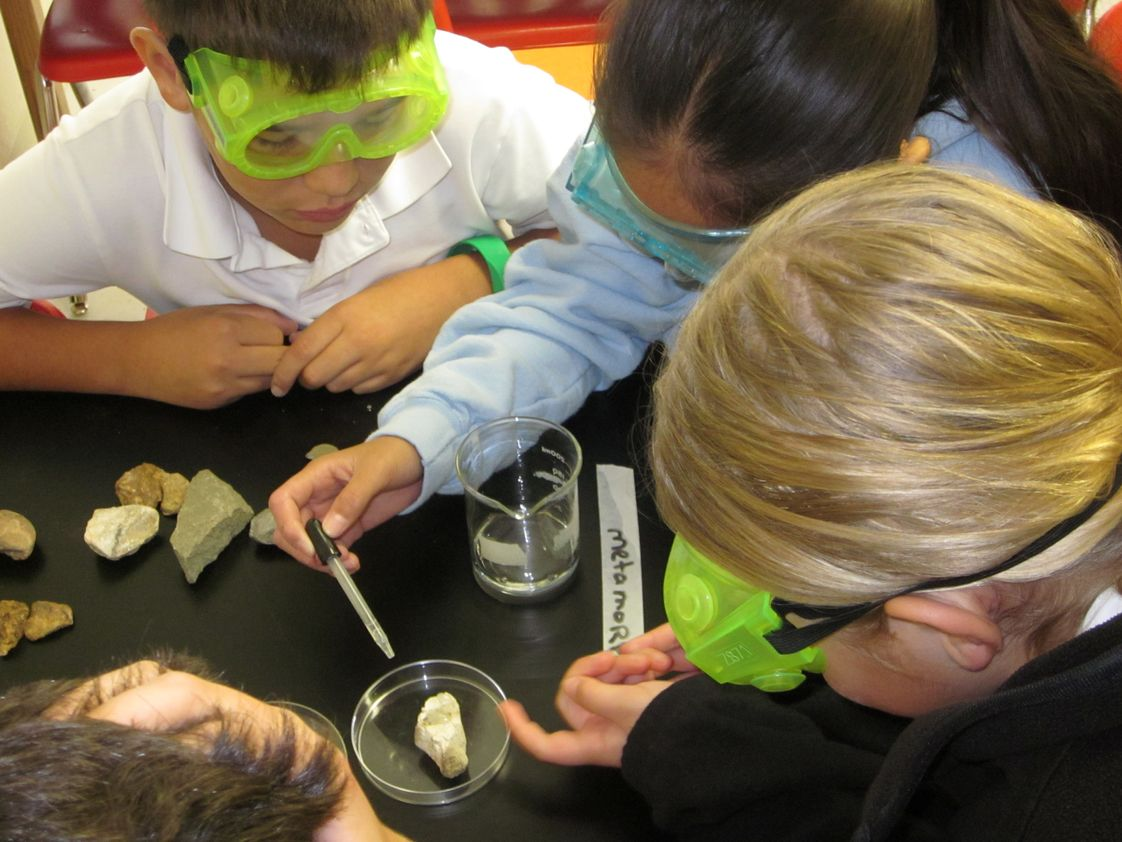 The Hilldale School Photo - Hands-on Science is an important part of the Pre-K through Middle School curriculum.