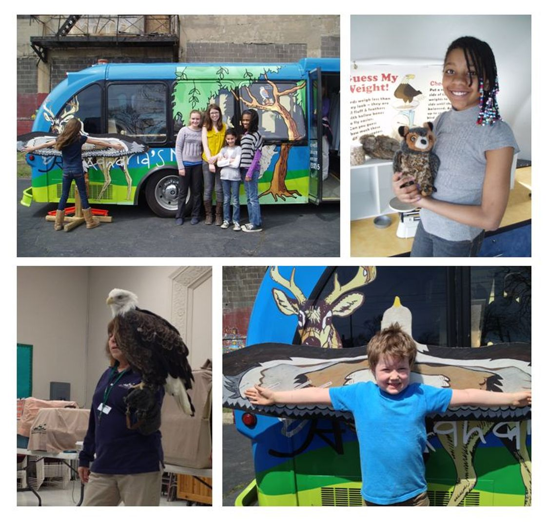 Charlotte Mason Community School Photo - The Spirit of Alexandria Foundation generously funded the Nature Bus to come to CMCS and teach the students about birds and nature!
