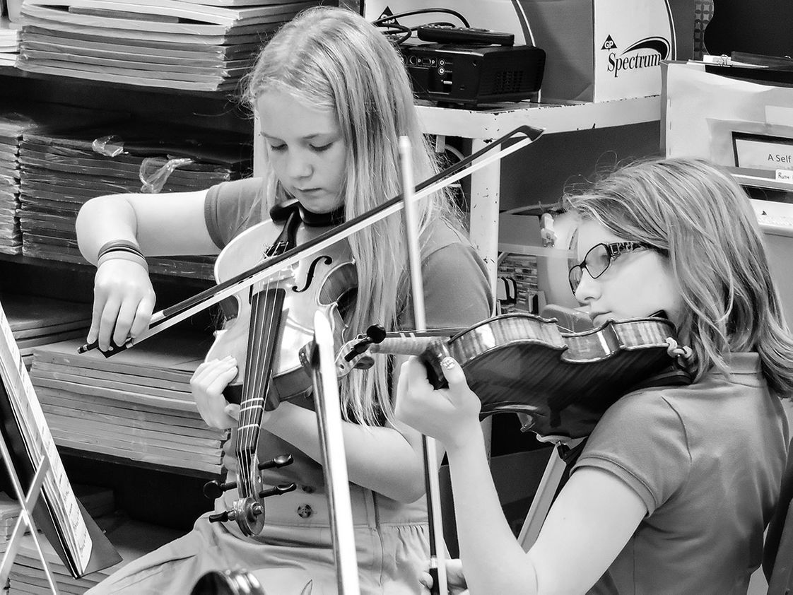 River Oak Christian Academy Photo - Orchestra
