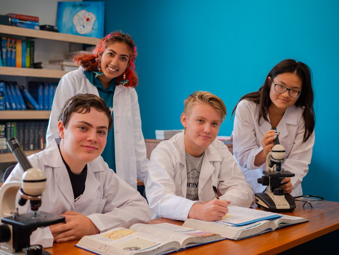 High Bluff Academy Photo #1 - HBA specializes in lab sciences for all levels of students. Our small class sizes and great teachers support and challenge students to accomplish their goals.
