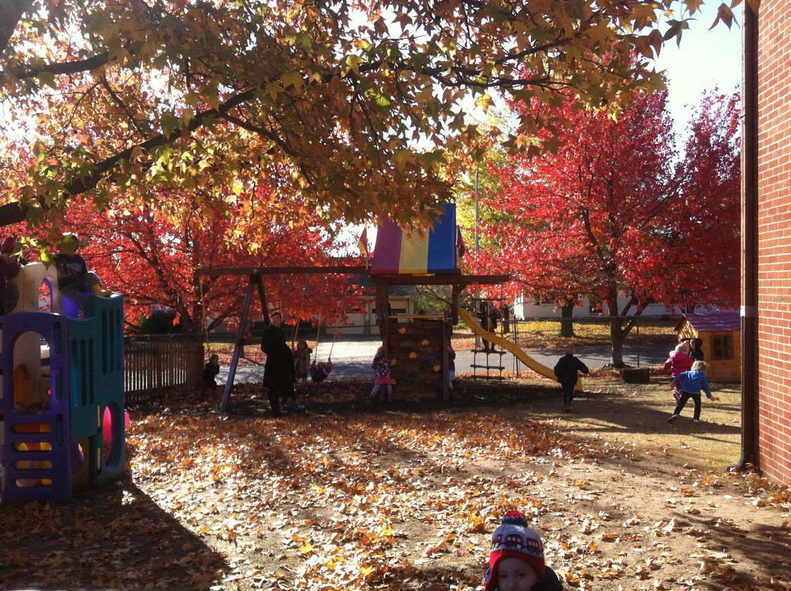 Monarch Montessori School Photo #1 - A crisp Fall day on the playground