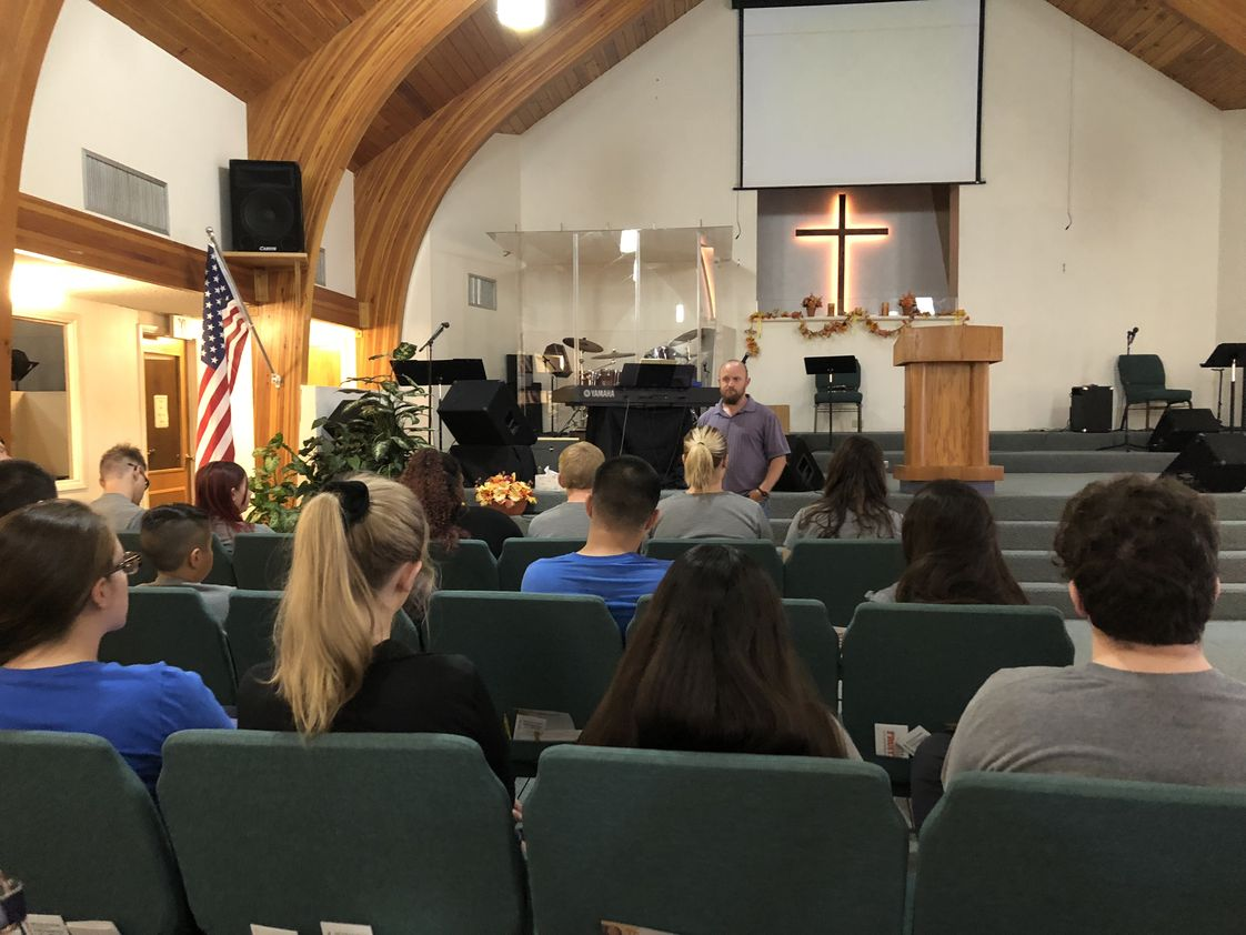 Faith Christian Academy Photo #1 - Chapel once a week. Special speakers to share God's Word