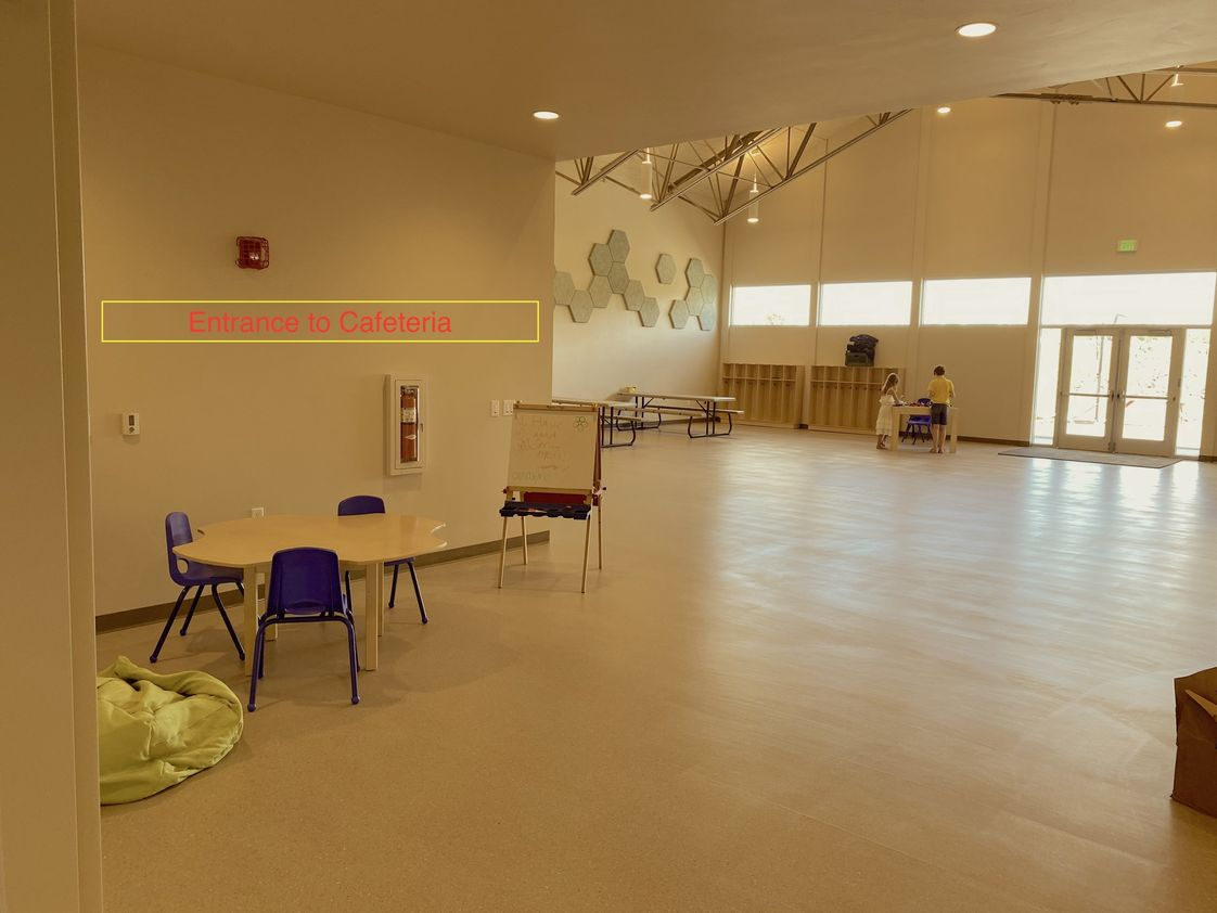 Cottonwood Day School Photo - Interior of New Facility.