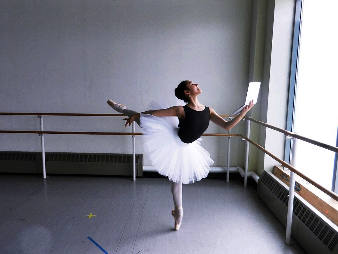Northstar Academy Photo - Semiprofessional ballerina and NorthStar student Bethany artfully captures the possibilities that come alive when you choose NorthStar Academy! Real People. Real Places. Real Ministry.