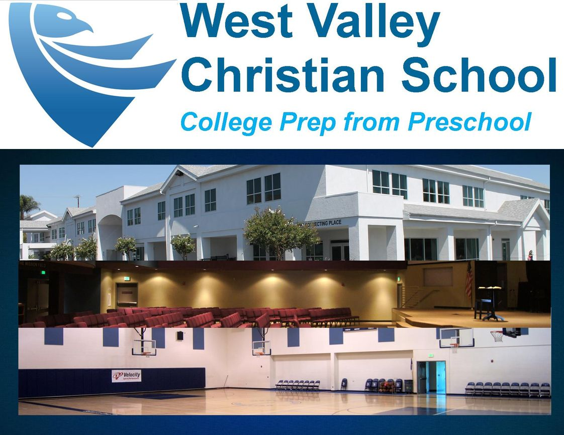 West Valley Christian School Photo - Welcome to West Valley Christian School