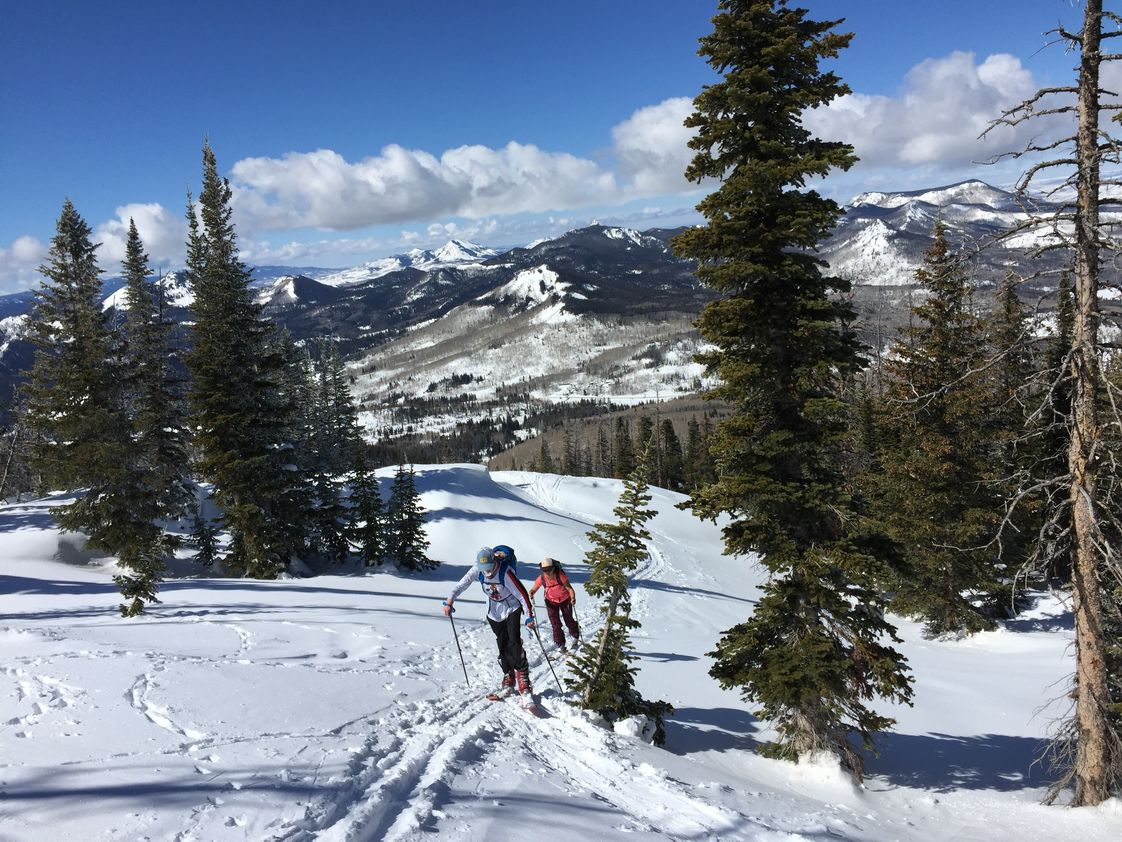 Steamboat Mountain School Photo - Get outdoors on the weekends, mountain biking, ice climbing, or backcountry skiing. You can try it for the first time!