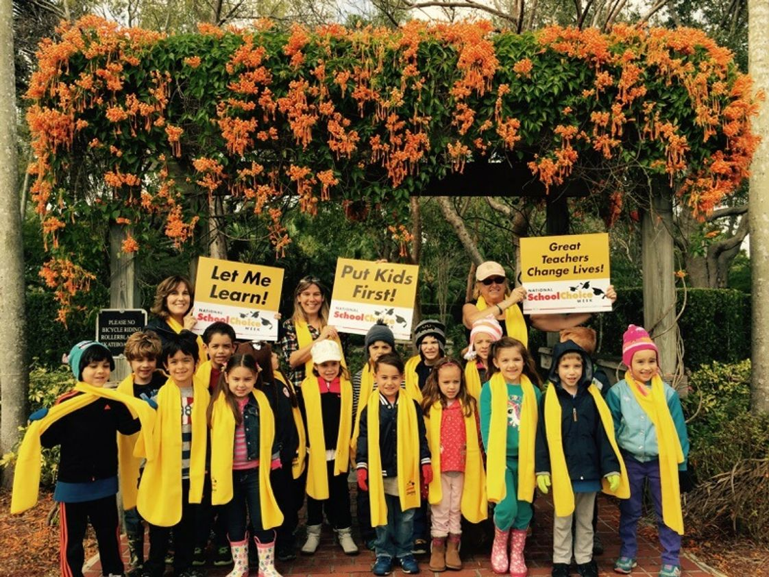 The Creative Learning Center Photo #1 - Our Kindergarten Class celebrating National school choice week
