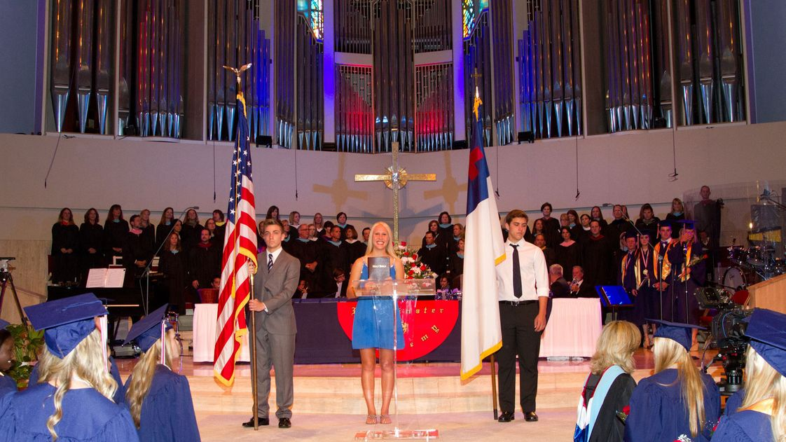 Westminster Academy Photo - Spiritual Life Baccalaureate Service