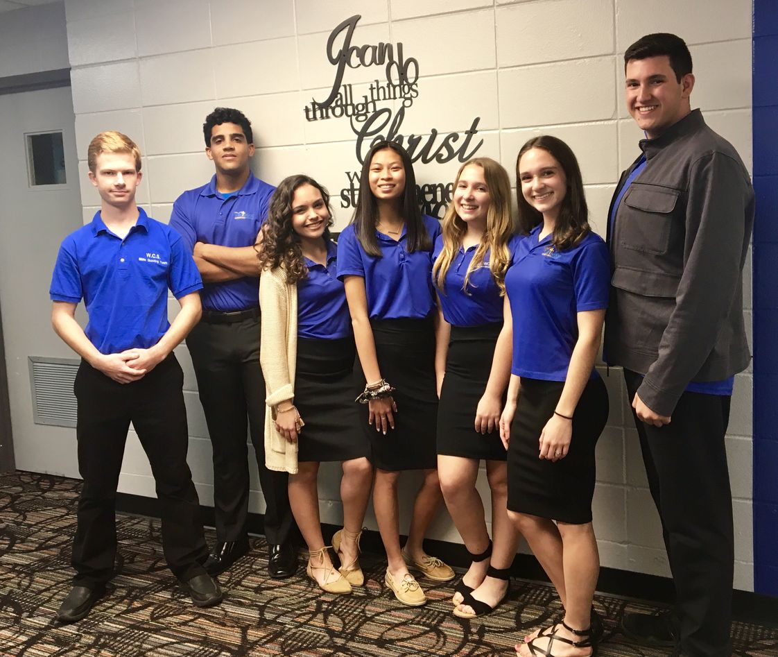 Westwood Christian School Photo - Bible Quizzing Team