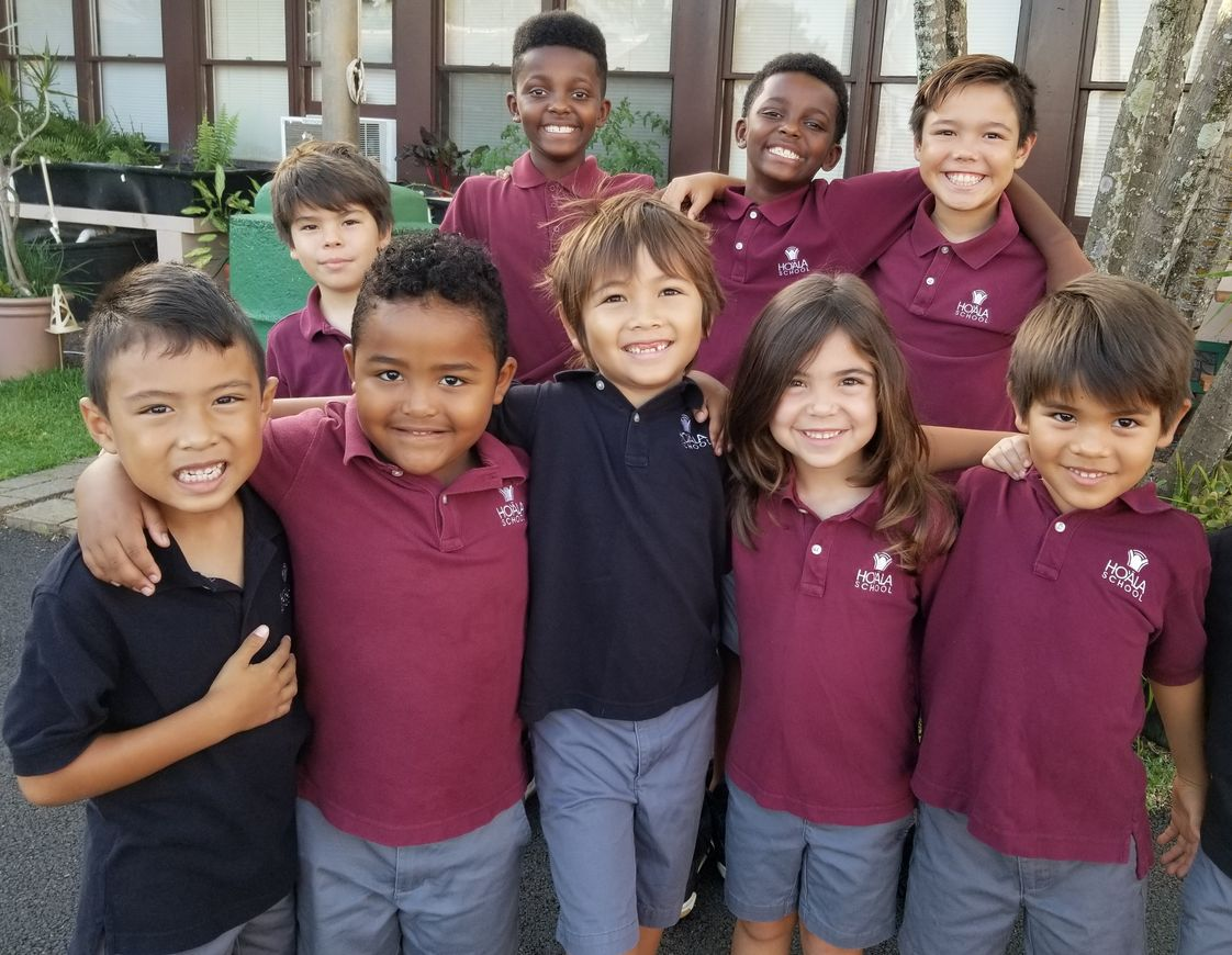 Ho'ala School Photo - Our small class sizes allow students to make life-long friendships. Communication skills are taught including conflict resolution which creates respectful dialog and dispels bullying behaviors.
