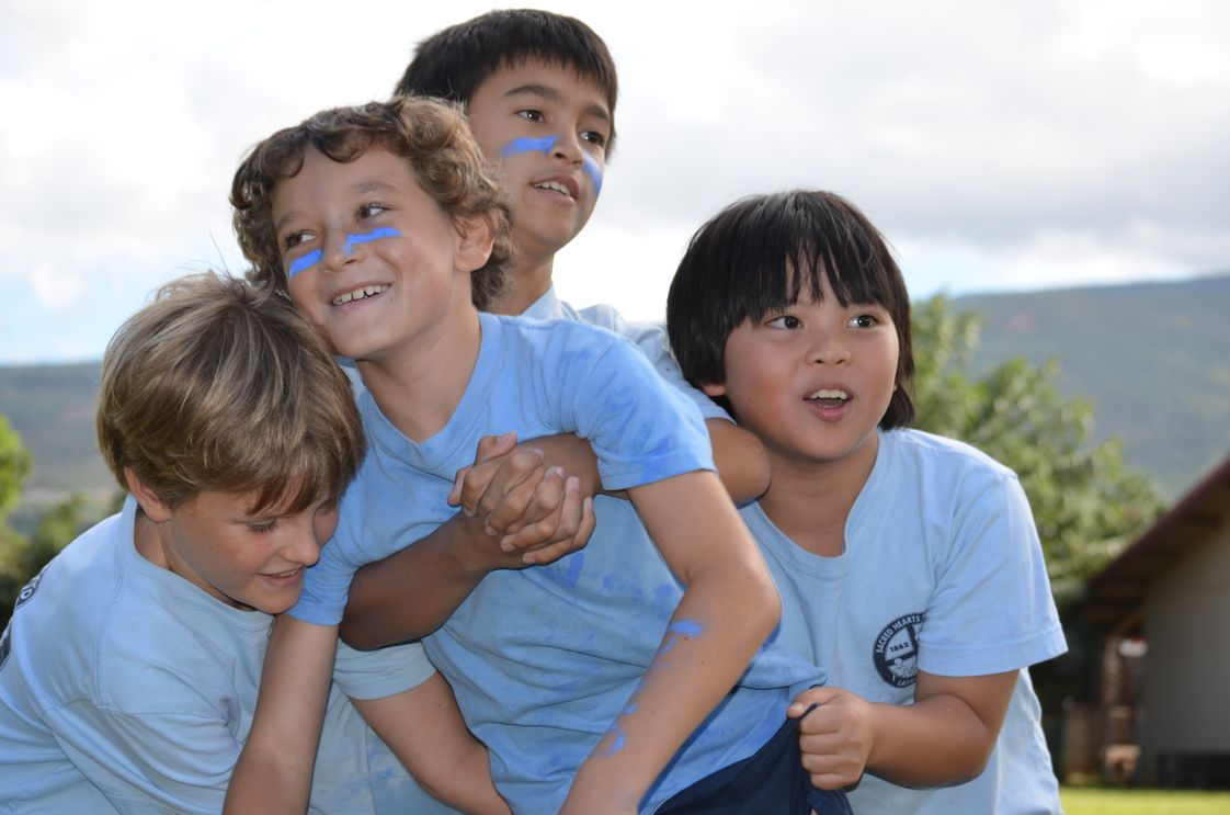 Sacred Hearts School & Early Learning Center Photo - We believe that children learn best when they are having fun and that keiki need room to express themselves creatively in order to thrive.