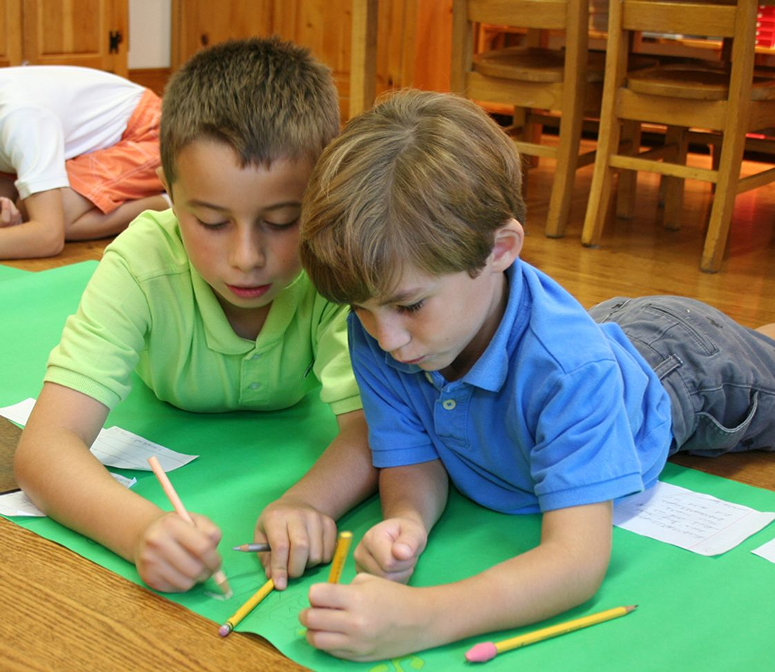 Forest Bluff School Photo - Elementary Level: Research
