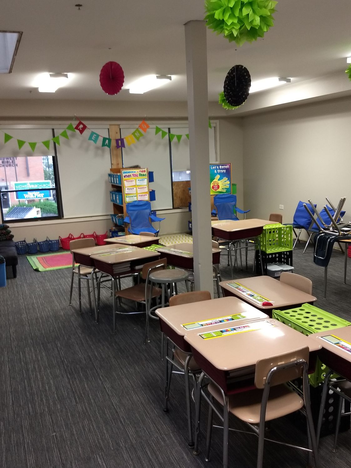 Midwestern Christian Academy Photo - Newly renovated classroom.