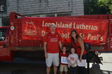 Our proud families showed their 'I love Northport' spirit when they represented LuDay in the Annual Cow Harbor Parade!