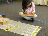 Kindergarten language lesson on word building