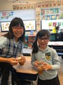 St Andrew Catholic School Photo - 1st and 4th graders celebrate Johnny Appleseed day by making applesauce!