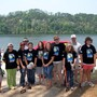"The Capitol School Photo #1 - High School Students volunteering in ""Renew Our Rivers"" cleanup."