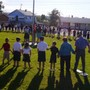 "Wickenburg Christian Academy Photo #5 - ""See You at the Pole"" is an annual student lead event that presents the opportunity to gather together to pray for people and issues near and dear to their hearts. Students, staff and parents meet in small groups and then as an entire student body."
