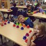 St. John Lutheran School Photo - Our First Grade music class plays desk bells!