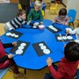 Our Lady Of Lourdes School Photo - Pre-School students learn Art in their classrooms.