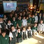 Blessed Sacrament School Photo - Our first and second grade classes had a special guest visitor to learn about weather.