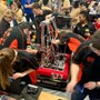 Brother Rice High School Photo #7 - MechWarriors - Brother Rice & Marian Robotics Team that compete throughout the year. In 2018 they compete at the World Championships.