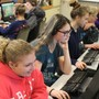 Heritage Christian Academy Photo - Programming is one of the subjects taught in the computer lab .