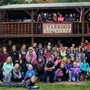 Traverse City Christian School Photo - A group of students ready for some team-building adventures at TC Christian's annual MS/HS Fall retreat.