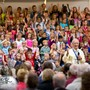 Lincoln Christian Elem/jr-sr Photo - Elementary Students singing on Grandparents Day