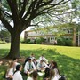 Bishop Eustace Prep School Photo - A group of students enjoying our college style campus.