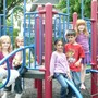 New World Montessori School Photo #8 - Outdoor play is great for developing large motor skills and socializing.