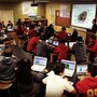 Calvary Christian Academy Photo - All Middle and High school academic classes intergrate technology to enhance learning. Our Middle and Upper school students have their own Chromebooks to access course content and to colaborate with teachers and peers. Technology is in place to keep content safe. Our Preschool 4 year olds through 5th Grade classrooms use our Mobil Chromebook carts.