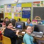 Zion Lutheran School Photo #3 - Students of Zion take a math break with Math Munchers on the school's laptops.