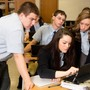 Bishop Guilfoyle Catholic High School Photo - Students Working in Groups