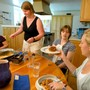 The Camphill School Photo #4 - Family style meals - a favorite time of day for the entire community