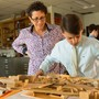 "The Haverford School Photo #3 - Sixth-grade art students engineer and design ""amazing mazes."""