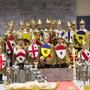 "The Regis School Of The Sacred Heart Photo - Regis 3rd graders participate in a ""Knighting"" ceremony which is the culmination of their year's study of ancient history."