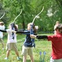 Browne Academy Photo #3 - Browne Academy offers archery during PE and as part of its auxiliary program.
