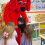 The Merit School Of Manassas Photo #3 - Clifford visited during the Scholastic Book Fair. Book Fairs are held twice a year--once in the fall and once in the spring.