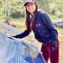 Midland School Photo #7 - A member of our sophomore class installing our 13th 3-kW solar array on campus during Midland's annual Experiential Week.