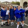 Our Lady Of Mount Carmel School Photo #6 - Happy 6th graders on the first day of school.
