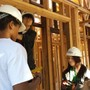 Pacific Academy Photo #6 - Habitat for Humanity: one of the many student volunteering efforts.
