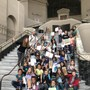 Park Day School Photo #8 - Students at Oakland City Hall for their campaign to make the Black Crowned Night Heron the official bird of Oakland which recently came to a vote and passed!