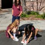 Faith Lutheran Academy Photo #10 - 5th grade science experiment: Tracking ShadowsStudents made their own sundials to to track the shadows created by the sun as it moves.